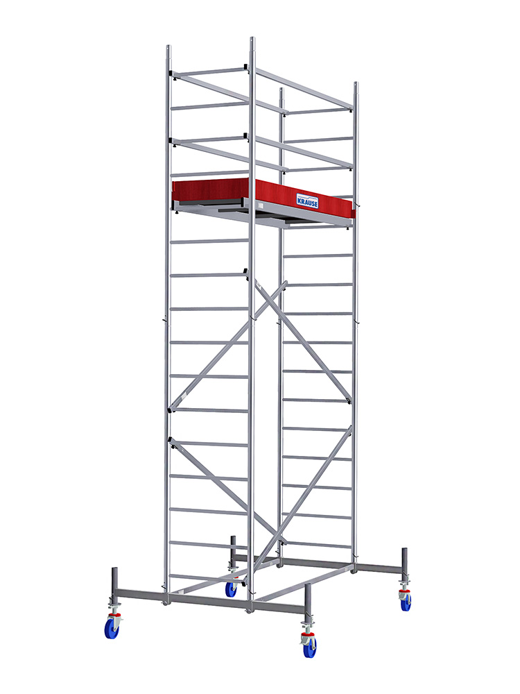 KRAUSE ProTec Belagbühne mit Luke 2.00 x 0.60 m für ProTec Alu Fahrgerüst 911001