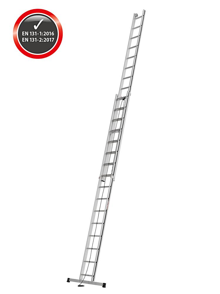 Hymer Seilzugleiter Alu Pro 70051 2x16 Sprossen Gefertigt Nach
