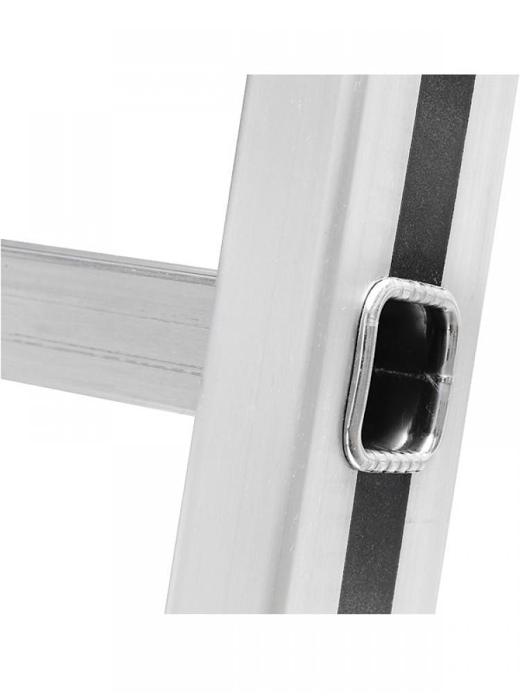 hymer anlegeleiter alu pro 70011 14 sprossen gefertigt nach neuer norm. Black Bedroom Furniture Sets. Home Design Ideas