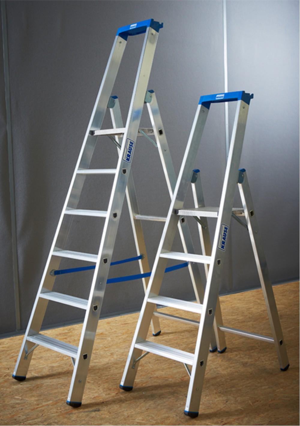 krause leiter profi stufen stehleiter 12 stufen. Black Bedroom Furniture Sets. Home Design Ideas