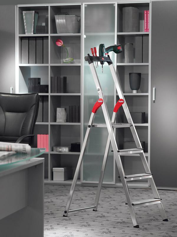hailo haushaltsleiter l60 easyclix 6 stufen 8160601. Black Bedroom Furniture Sets. Home Design Ideas