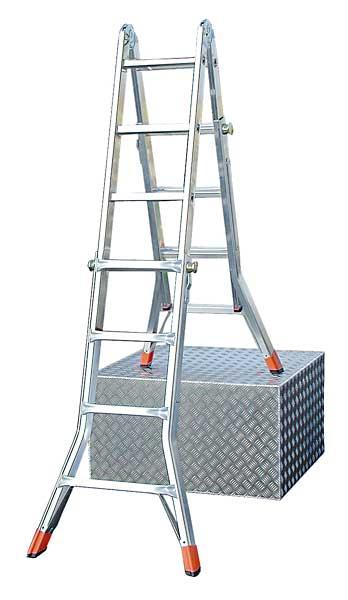 teleskopleiter krause telematic 4x4 mehrzweckleiter. Black Bedroom Furniture Sets. Home Design Ideas